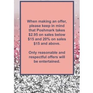 Only reasonable offers entertained. Please read!